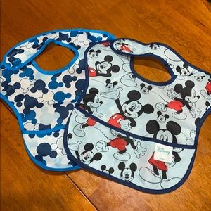 Disney Mickey Mouse bibs